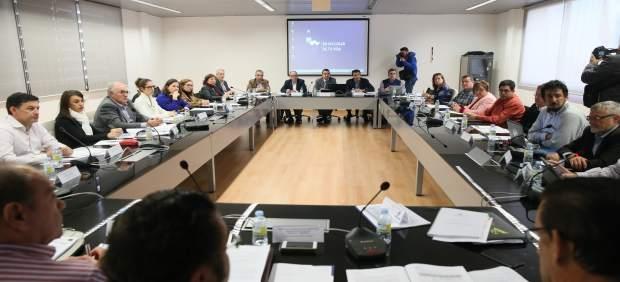 Momento de la reunión del Consejo Asesor