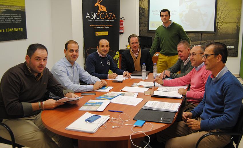 Reunión de la junta directiva de ASICCAZA.