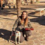 Arancha MartínSánchez, campeona de damas del campeonato de Caza Menor con Perro de Ciudad Real.
