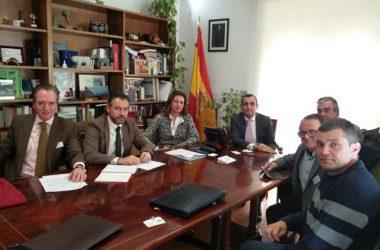 Representantes de la Oficina Nacional de la Caza y del Ministerio de Agricultura y Pesca, Alimentación y Medio Ambiente.