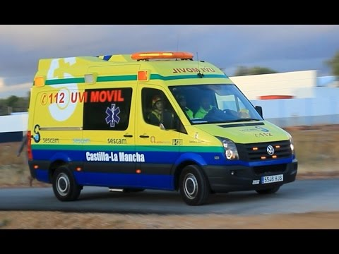 UVI móvil del Servicio de Salud de Castilla-La Mancha.