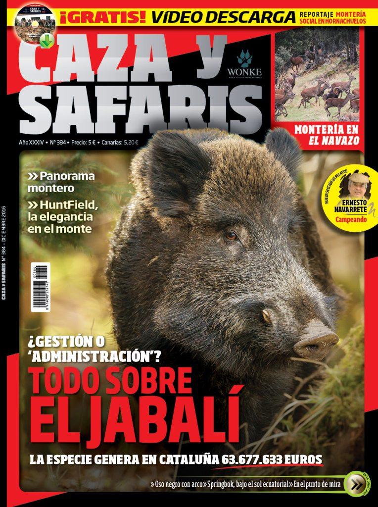 Portada de la revista Caza y Safaris