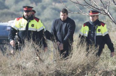 Ismael Rodríguez, el autor confeso de la muerte de dos agentes rurales.