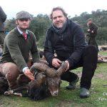 Uno de los muflones cobrados en Las Monteras (2).