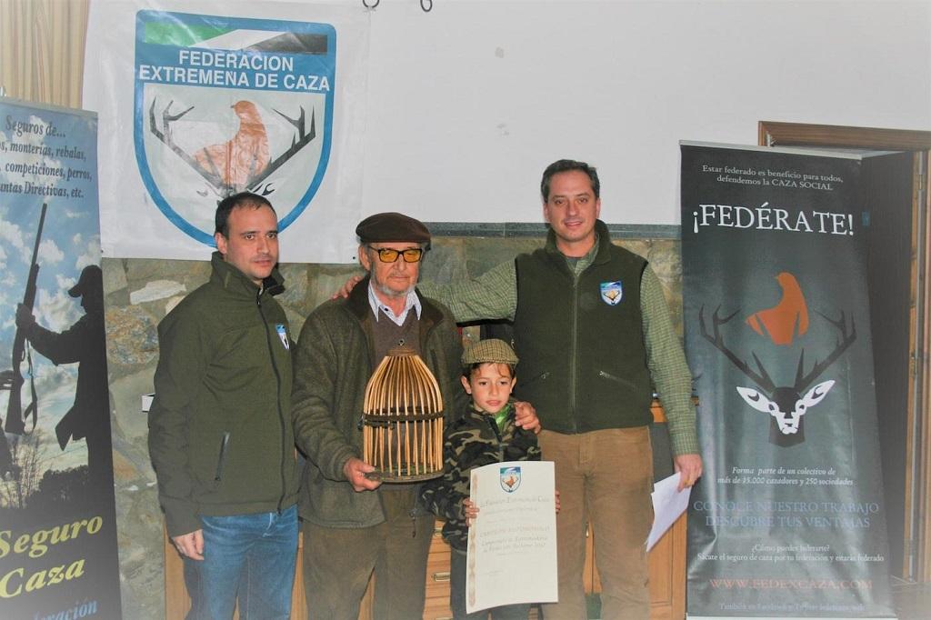 Ganador del Campeonato de Perdiz con Reclamo 2017.