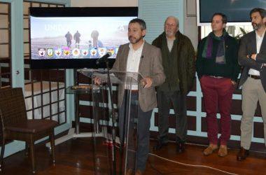 El actual presidente de la Federación de Caza de la Comunidad Valenciana, Vicente Seguí, presentando su candidatura a la Real Federación Española de Caza.