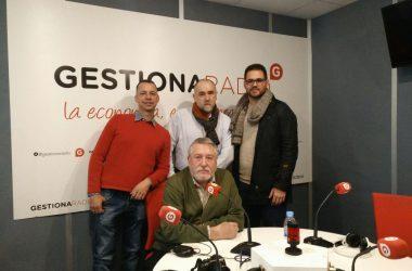 Juan Carlos Calvo, a la derecha. participó en el programa de Cesáreo Martín en Gestiona Radio.