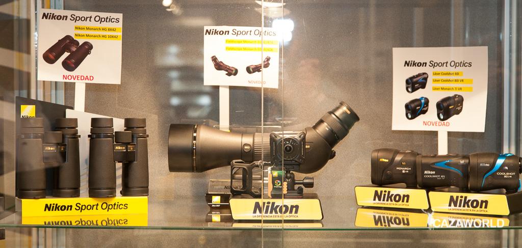 Nuevos NIkon MOnarch HG 8x42 y 10x42, medidores de distancia láser Monarch y Coolshot.