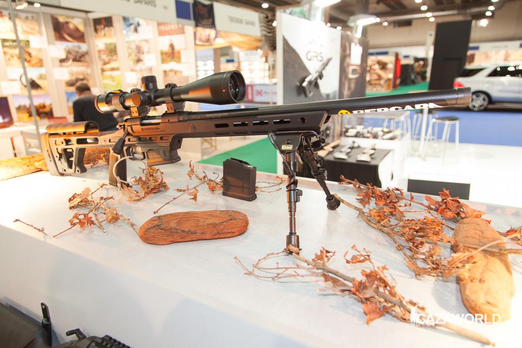 Nuevo rifle Bergara B14 BMP expuesto en Cinegética 2017