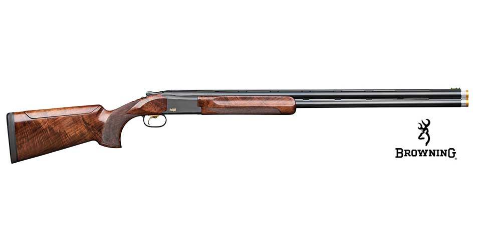 Escopeta superpuesta Browning B725 Pro Sport para diestros y zurdos.
