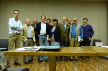 Representantes llegados de diferentes comunidades autónomas en la Asambla General de Aproca.
