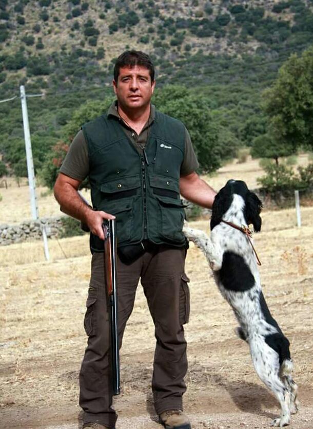 Carlos Tiburcio springer spaniel cachorro de caza