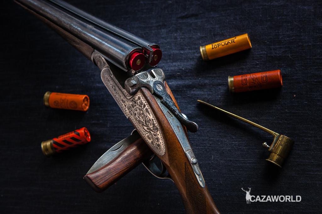 Aliviamuelles para comprar escopetas de segunda mano paralela