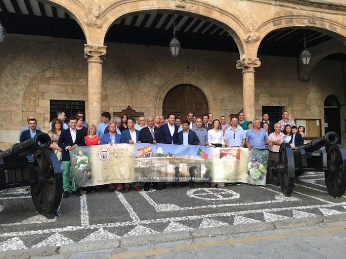 Diferentes entidades firmaron ayer en Ciudad Rodrigo un acuerdo para la defensa y la promoción de la montería ibérica.