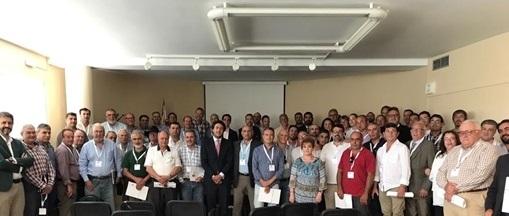 Participantes en la Asamblea General de la RFEC en Almansa.