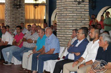 Asistentes a la asamblea general de la Asociación Española de Rehalas.