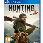 Caractula del juego de caza Hunting Simulator para Playstation 4.