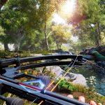 Escena de caza con arco ballesta en Hunting Simulator