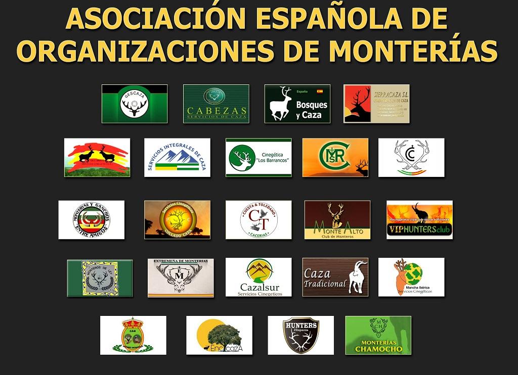 Organizadores que forman parte de la Asociación Española de Organizadores de Monterías.