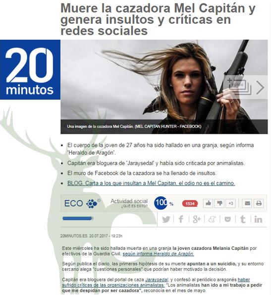 20 munitos Mel Capitán