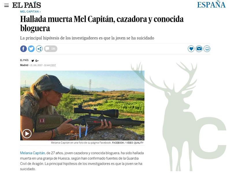 El País Mel Capitán