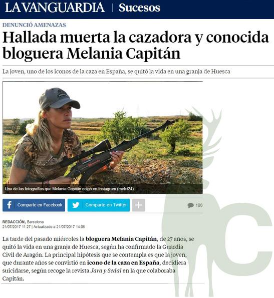 La Vanguardia Mel Capitán