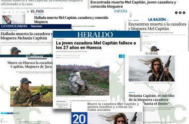 La muerte de Mel Capitán en los medios de comunicación