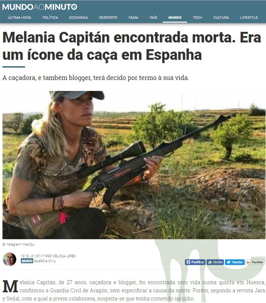 Mundo ao minuto Mel Capitán