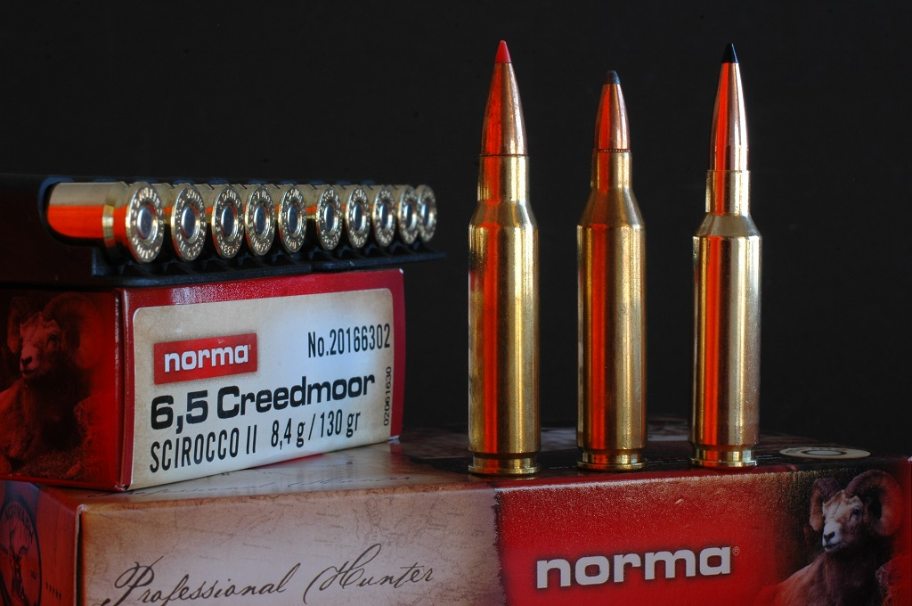 Norma amplía su catálogo con las balas del calibre 6.5 creedmoor.