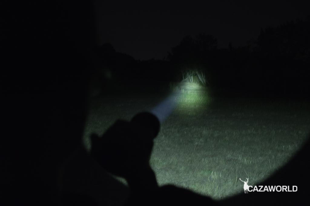 Probamos la linterna de caza Olight M3XS UT Javelot.