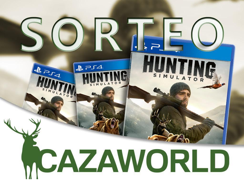 Sorteo de 8 juegos Hunting Simulator organizado por Cazaworld.