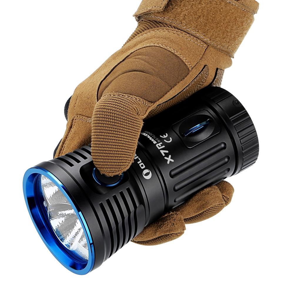 Linterna Olight X7R Marauder vista detallada