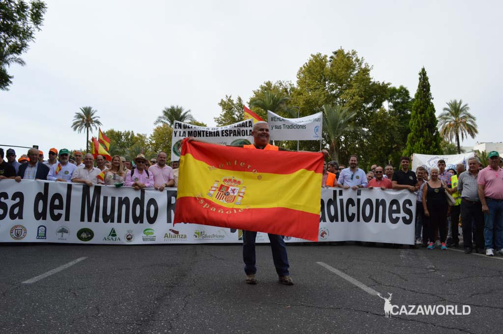 Monteros Españoles hoy presentes en Córdoba.