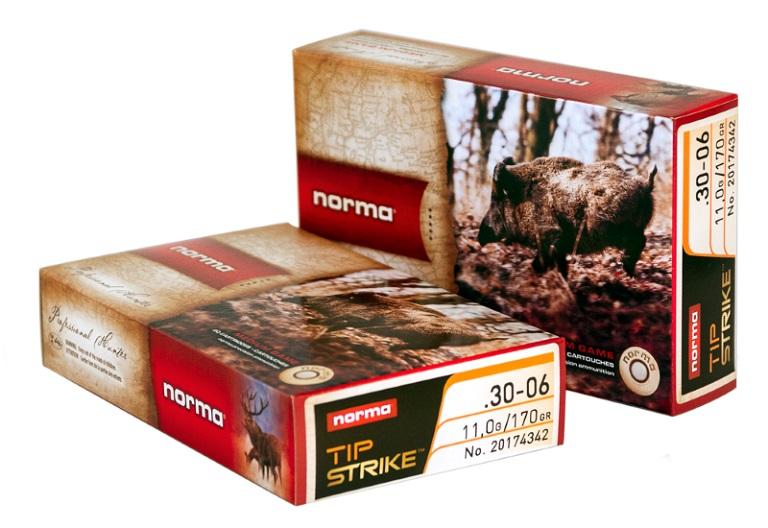 Caja de las balas Norma Tipstrike