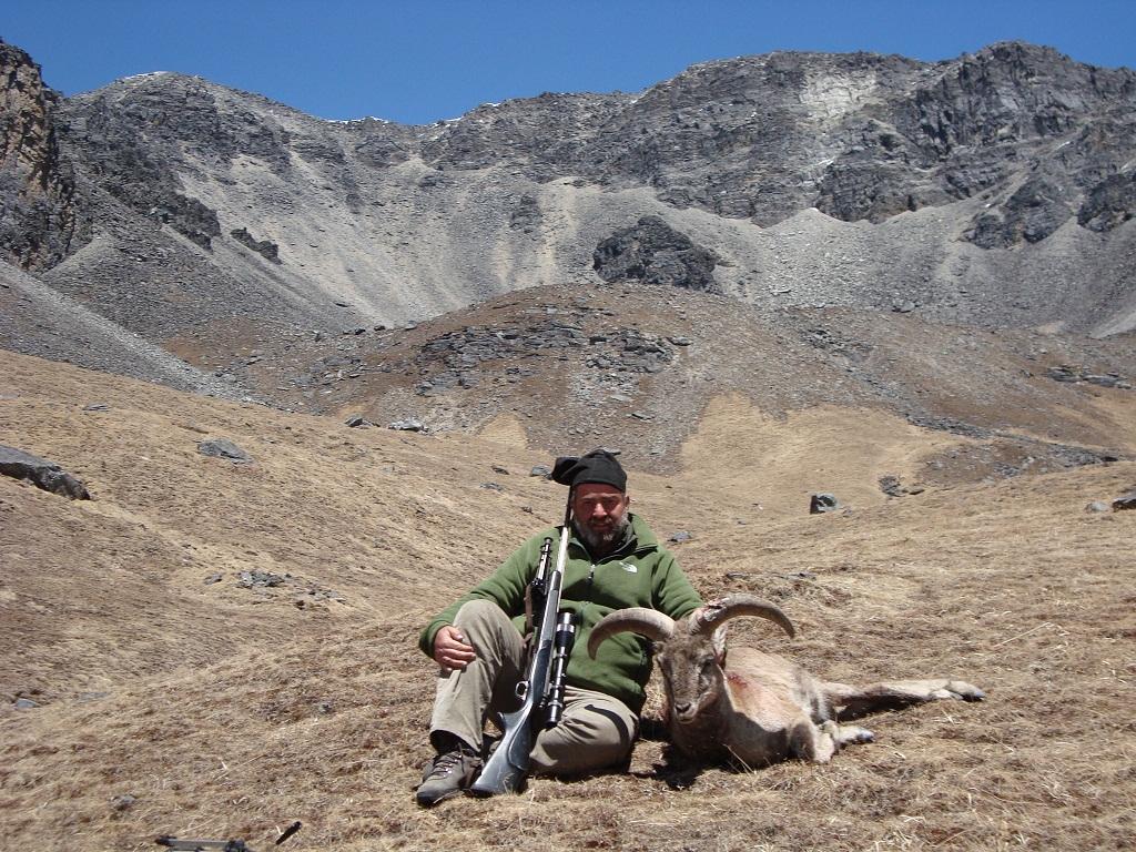 Ignacio Ruiz-Gallardon es cazador de alta montaña