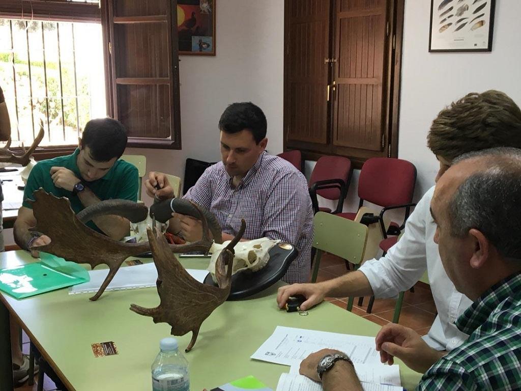 Cursos impartidos por la Escuela de Caza de la Federación Andaluza de Caza.