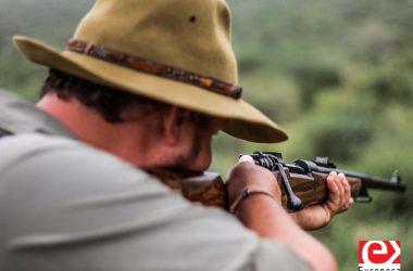 Rifle de cerrojo Rigby Big Game SSB.