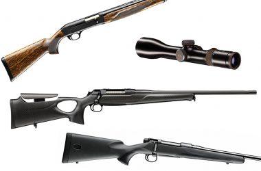Blaser Infinity, Sauer SL5, Sauer S404 XTC ó Mauser M18 serán algunas de las novedades presentadas por Excopesa en Cinegética 2018.