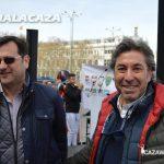 Abraham Corpa ha estado presente en la concentración de Madrid.