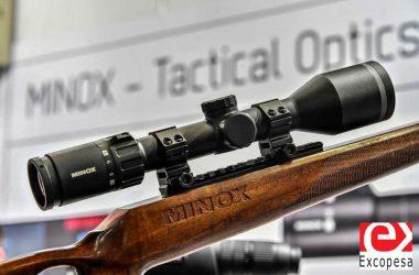 Nuevo visor de caza y tiro Minox 5.2 fabricado en Alemania.