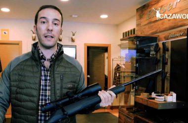 Antonio Adán, responsable de comunicación de Excopesa, nos presenta el rifle de cerrojo Mauser M18.