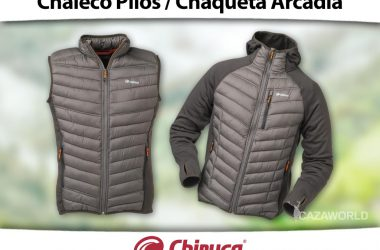 Chaqueta Chiruca Pilos y Chaqueta Arcadia.