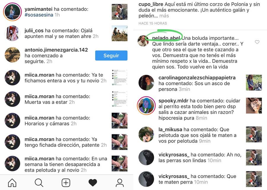 >Ataques e insultos a Pilar Escribano en redes sociales