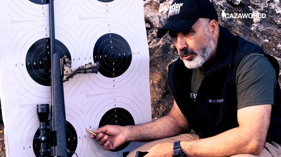 Rafa Carrillo nos explica por qué es importante no cantear el rifle a la hora de realizar disparos.