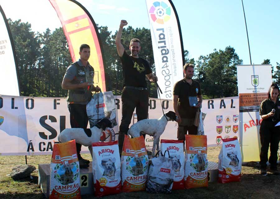 Ganadores del Campeonato de España de San Huberto