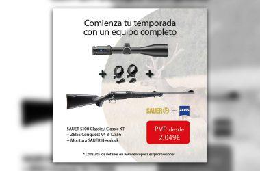 Promoción de Sauer y Zeiss por Excopesa