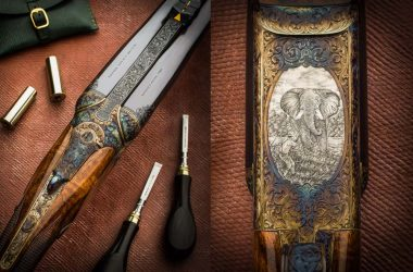Rifle express Westley Richards del calibre 500