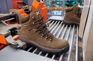 Proceso de fabricación de las botas Chiruca.