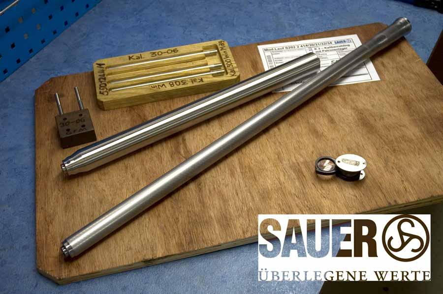 Cñón del rifle Sauer S100