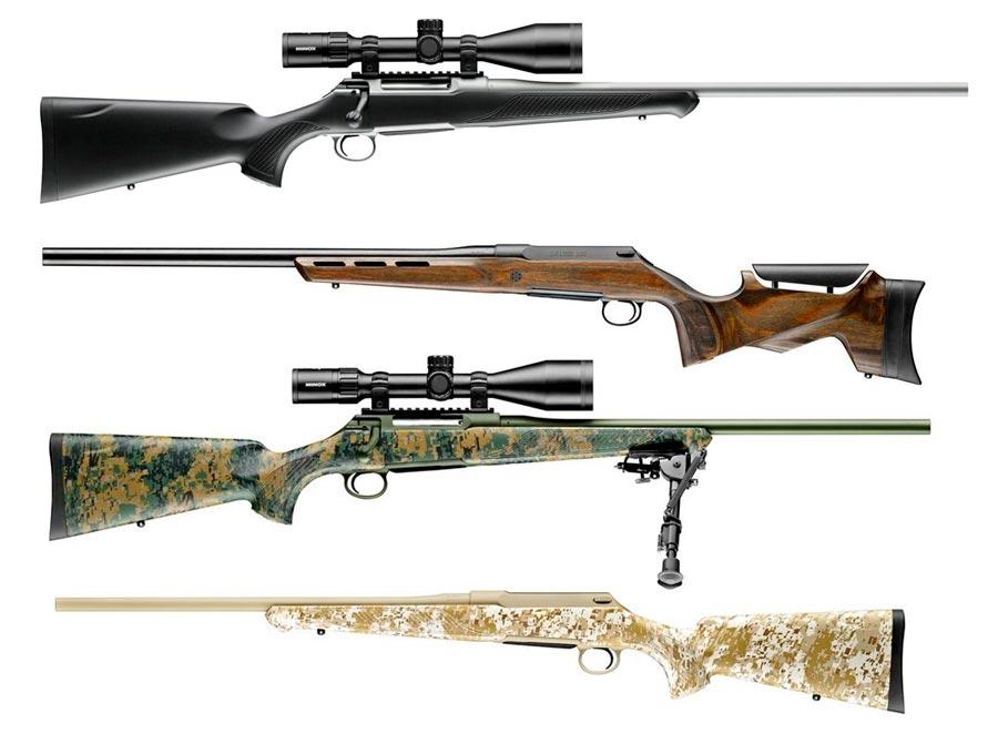 Modelos del rifle Sauer S100